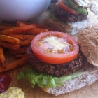3-Bean Vegan Burgers and Talking Plant-Based Protein