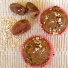 Banana Date Breakfast Muffins