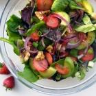 Strawberry, Spinach and Avocado Salad