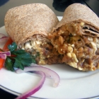 Ful Mudammas Breakfast Burrito