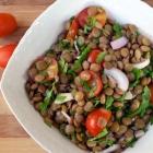 Easy Lentil Salad with Maple Dijon Dressing