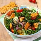 Marinated Kale Fattoush
