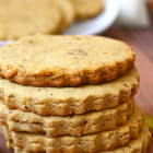 Gluten-free Vegan Orange Cardamom Cookies