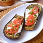 Za'atar Rubbed Baked Eggplant