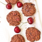 Chocolate Cherry No-Bake Cookies