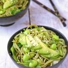 Green Tea Soba and Edamame Noodle Salad