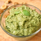 Easy Vegan Walnut Pesto