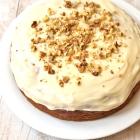Vegan Spelt Carrot Cake