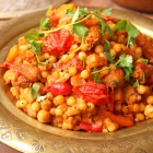Moroccan-style Moghrabieh Couscous