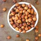 Garlic and Herb Air-Fryer Roasted Chickpeas