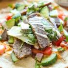 Vegan Seitan Shawarma